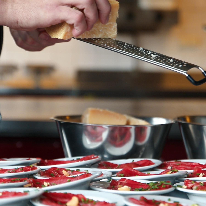 Making of tapas