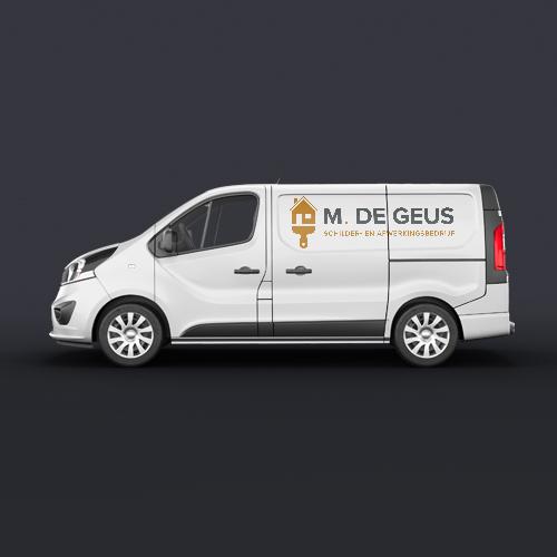 Logo M. De Geus